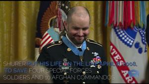 Former Green Beret Receives Medal of Honor