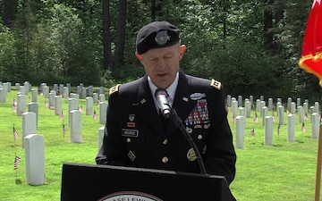 JBLM Memorial Day Ceremony 2020