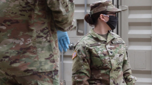 Mexican-American Oklahoma National Guard Soldier Helps Bridge Language Barriers During Covid-19 Outbreak