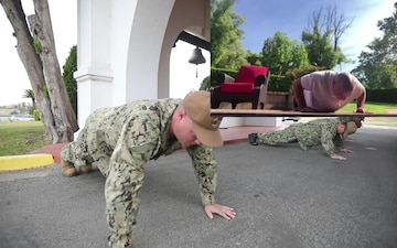 NSWC Corona's Fitness Friday Push-Up Challenge