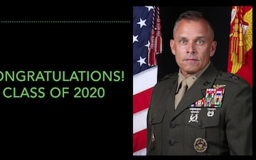 MARFORCYBER Commander Message to Class of 2020