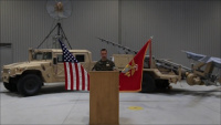 Marine Unmanned Aerial Vehicle Squadron 1 Change of Command Video Message
