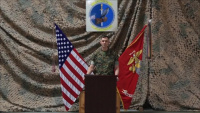 Marine Air Control Squadron 1 Change of Command Video Message