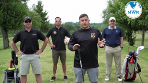 Free golf? Commander challenges everyone to beat his golf score!