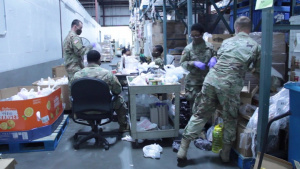 South Carolina National Guard supports local food bank