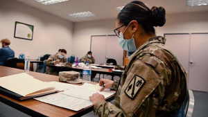 Oklahoma National Guard supports state-wide COVID-19 contact tracing