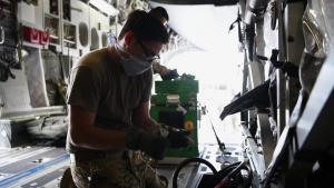 Aeromedical Evacuation conducts TIS training