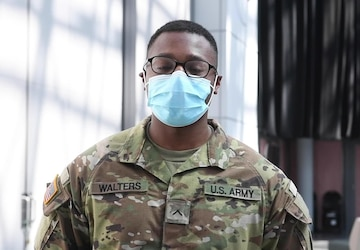 U.S. Army Pvt. Cameron Perry