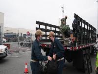 USS Kidd Sailors Return from Quarantine