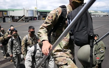 National Guard task forces airlifted home from neighboring islands