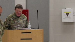 99th Readiness Division's Headquarters and Headquarters Company Change of Command