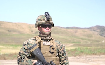 1st Marine Division Band Recon Patrols B-roll