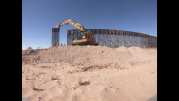 Corps continues to construct Yuma 2 border barrier