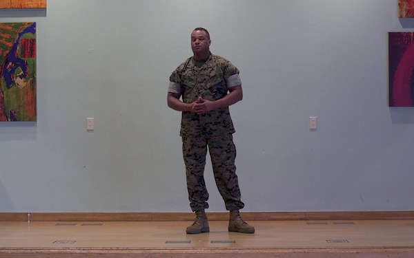 RED Talks | Gunnery Sgt. Michael Diggs speaks about alcohol use awareness