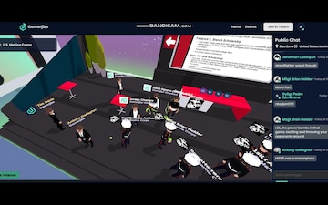GamerJibe Virtual Career Fair (BRoll)