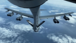 100th ARW fuels B-52 off Norwegian coast
