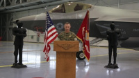 Marine Fighter Attack Squadron 314 Change of Command Video Message
