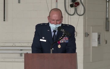 106th Rescue Wing Change of Command and Promotion of Michael W. Bank to Brigadier General