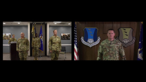 449th Air Expeditionary Group Change of Command