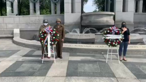 Wreath-Laying Ceremony in Remembrance of D-Day