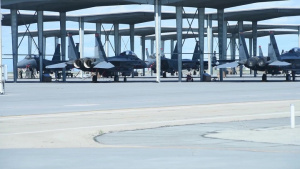 389th Fighter Squadron Homecoming BROLL Package 1