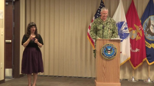 Defense Contract Management Agency - Change of Command Ceremony