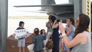 389th Fighter Squadron Homecoming BROLL Package 8