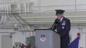 1st SOW Change of Command