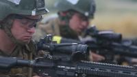 ITB Marines conduct M27 IAR range