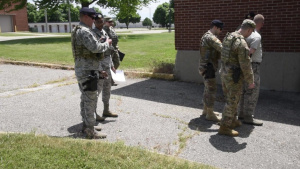 127th wing Security Forces Arrest Procedure Training