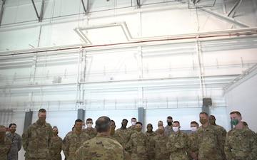 CSAF Visits Tinker AFB - Video Broll