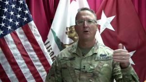 Maj. Gen. Beevers greeting for Santa Cruz Pride