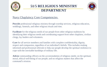 51/5 Religious Ministry Department