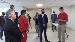 Corps turns over Alternate Care Site facility to the State of Tennessee