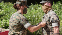 MCAS Miramar Marine receives award