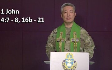 Theater Wide Virtual Prayer service for the Nation - US Army Chaplains Europe