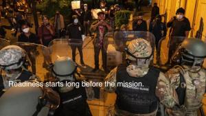 113th Logistics Readiness responds to civil unrest