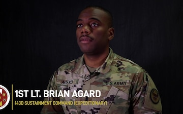 Work environment during the COVID-19 pandemic with 1st Lt. Brian Agard