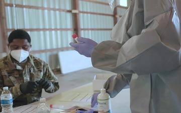 Pfc. Rosalie Baraka: doing her part in the Michigan National Guard