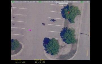 CBP Air and Marine Operations UAS demonstrates video capabilities