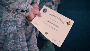 Oklahoma National Guard's civil support team commander recognizes Airmen for COVID-19 response