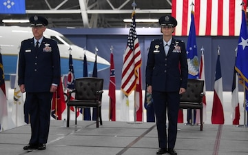 89th Airlift Wing Change of Command