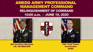 APMC Conducts Virtual Relinquishment of Command Ceremony