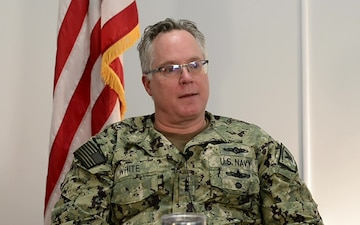 Vice Adm. White Speaks about Racism and the Need to Communicate