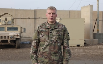Spc. Benjamin Rudolph, Independence Day Shout out