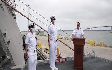 USS KANSAS CITY COMMISSIONING CEREMONY