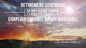 AFRC's Command Chaplain, Col. Marshall Retires