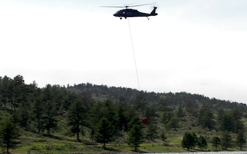WyoGuard UH-60 exercise: Water Drop 3