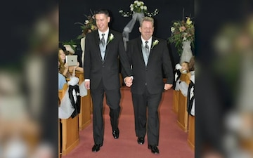 """Teaser #2 - Looking back on historic March Chapel wedding with """"Pride"""""""