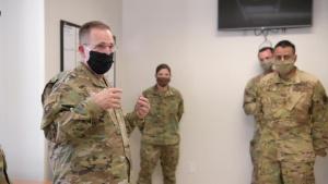 Lt. Gen Slife Visit to Cannon